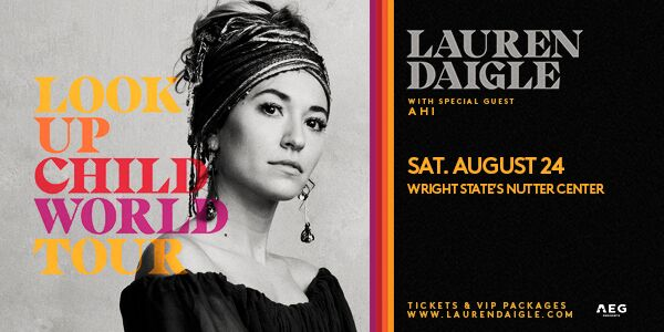 lauren daigle  u0026 39 look up child world tour u0026 39  with special