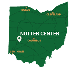 Map of Wright State University's Nutter Center